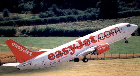 Easyjet avion